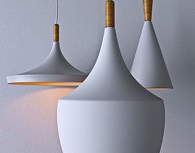hanging light 3d model realtime