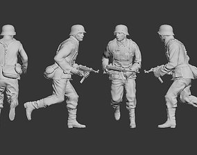 German soldier 3D print model