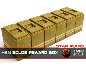 3D print model Star Wars Han Solos Reward Box 1-48 scale