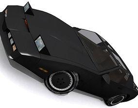 Knight Industries Two Thousand KITT 3D asset