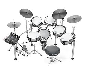 Roland TD30 electronic drums set 3D model