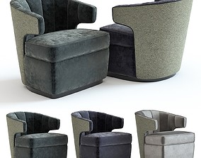 The Sofa and Chair Co - Gibbs Armchair 3D