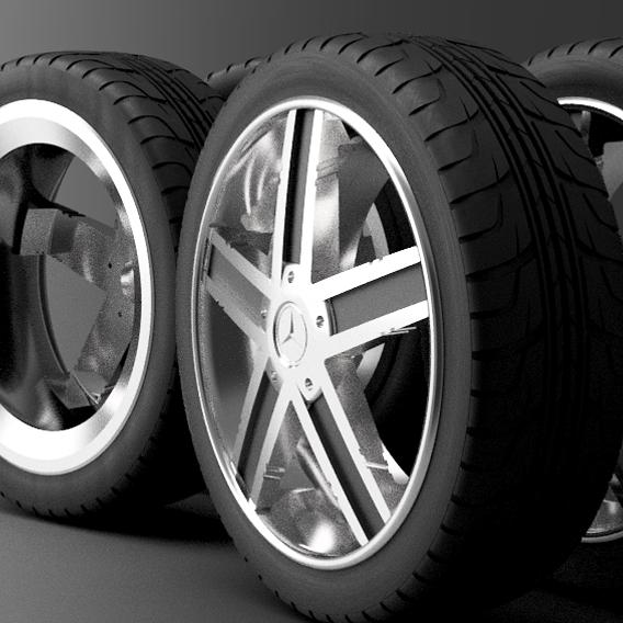 AMG wheel 3