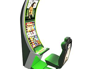 Slot Machine Arc Solo Casino 3D model