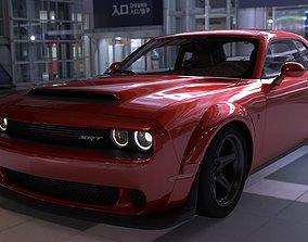 Dodge Challenger Demon 3D asset realtime