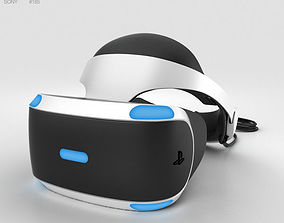 3D model Sony PlayStation VR