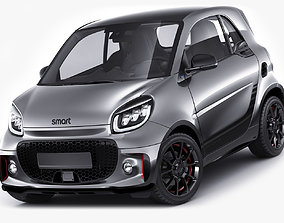 3D Smart EQ Fortwo 2020 Edition One