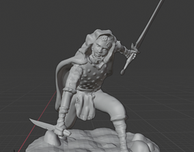 3D print model Gnome Rouge Rick