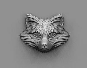 Fox head 3D print model