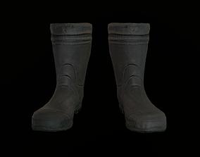 pant Boots 3D asset realtime