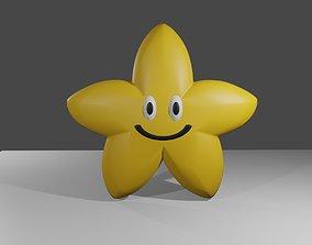 Cute Star - Estrela Fofinha 3D model