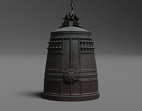 3D model Japanese Bell