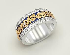 ring 3D print model Grapes Ring