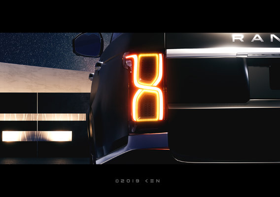 Range Rover Taillights Design by K E N™