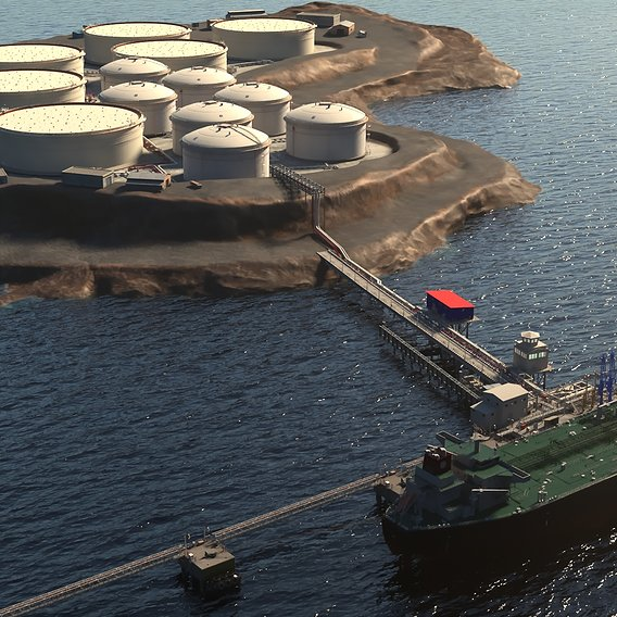 offshore animation project