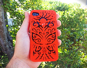Butterfly Iphone Case 4 4s 3D print model