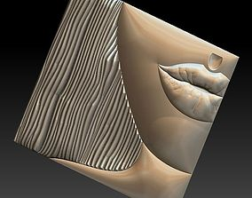 No 2 Lips 3D print model