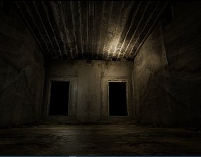 Old Concrete Wall 01 03 D 3D model