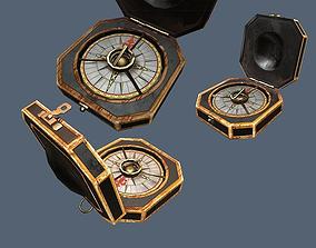 Jack Sparrows Compass 3D asset