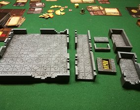 DCRRE dungeon rooms and connectors 3D printable model