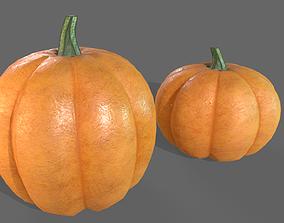 Pumpkin 3D asset VR / AR ready PBR