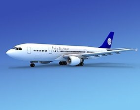 Airbus A300 Belleview 3D