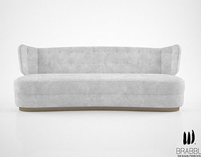3D model Brabbu George sofa