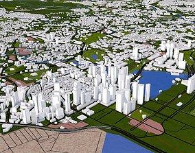 Singapore City 3D model
