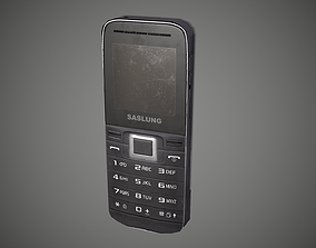 3D model Mobile Phone Old