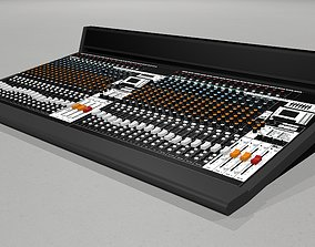 Mixing Board - Recording Studio Mixer stereo 3D model