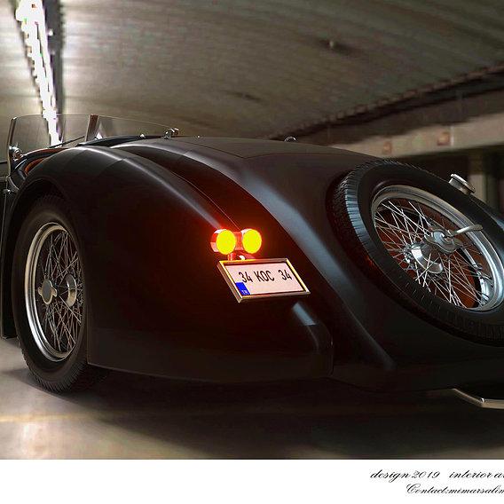 Old car design