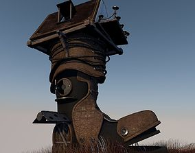 3D model Fantasy Shoe House updated