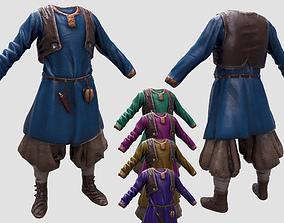 3D asset Village Outfit