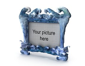 3D model Water picture frame