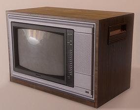 CRT TV 3D model