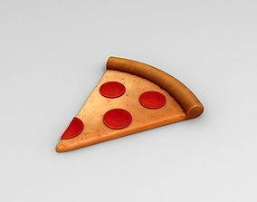Pizza 3D model emoji