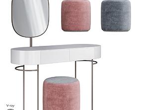 3D asset Dressing table PAD Geneve