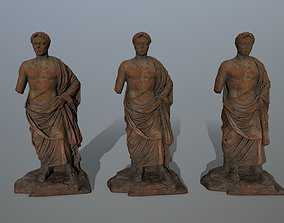 statue 5 3D model low-poly