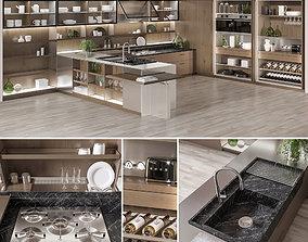 3D Ernestomeda SOUL Kitchen set