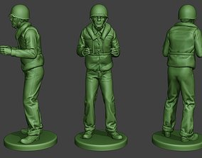 3D print model US Navy Sailor ww2 Action USN1