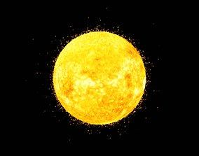 The Sun 3D asset