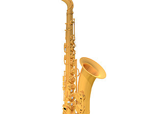 Alto Saxophone - Musical Instrument 3D model