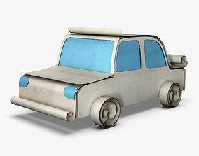 3D Car Sedan Paper v 1