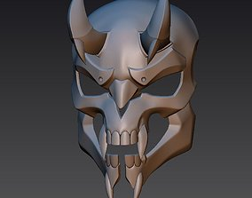 Reaper Hellfire mask from OverWatch 3D printable model