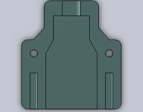 USB holder 3D print model