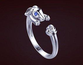 Ring hare 3D printable model