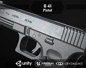 G 41 Pistol 3D asset