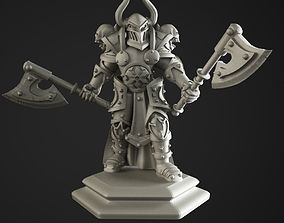 Warrior of the chaos 3D printable model