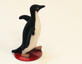 Socially Awesome Penguin 3D print model