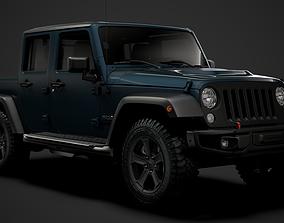 Jeep Gladiator Rubicon Recon JK 2018 3D